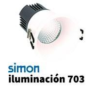 Simon 703 iluminación