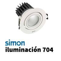 Simon 704 iluminación
