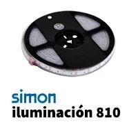 Simon 810 iluminación