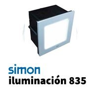 Simon 835 iluminación