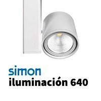 Simon 640 iluminación