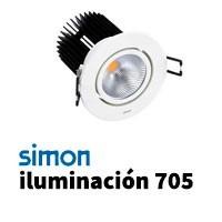 Simon 705 iluminación