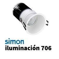 Simon 706 iluminación