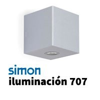 Simon 707 iluminación