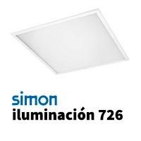Simon 726 iluminación