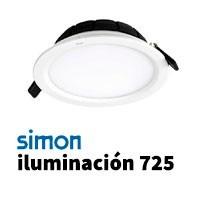 Simon 725 iluminación