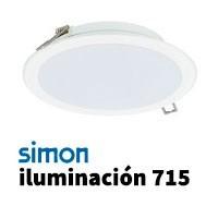 Simon 715 iluminación