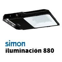 Simon 880 iluminación