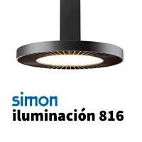 Simon 816 iluminación