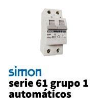 Simon 61 Grupo 1 Automáticos