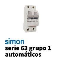 Simon 63 Grupo 1 Automáticos