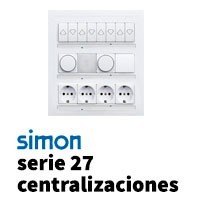Serie Simon 27 Centralizaciones
