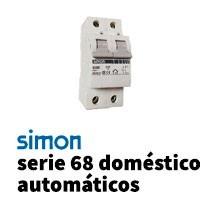 Simon 68 Doméstico Automáticos